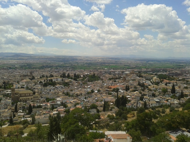 Granada desde el Llano de la Perdiz